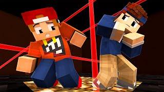 DER LASER WETTKAMPF!!   Minecraft Lazr