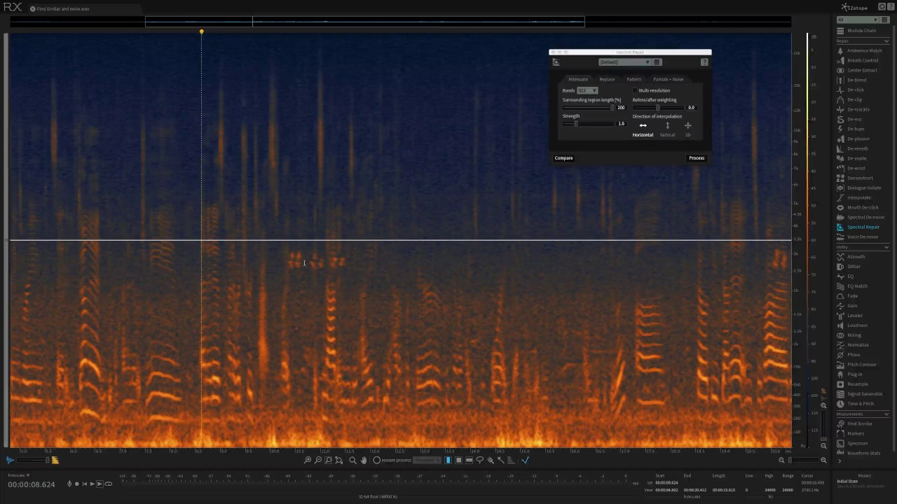How to Paint Away Audio Problems with Spectral Repair in iZotope RX