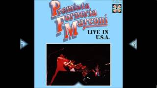 PREMIATA FORNERIA MARCONI  --  Live in U S A  --  1974