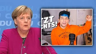 Merkel Reagiert auf Rezo-Video (YouTube Kake)