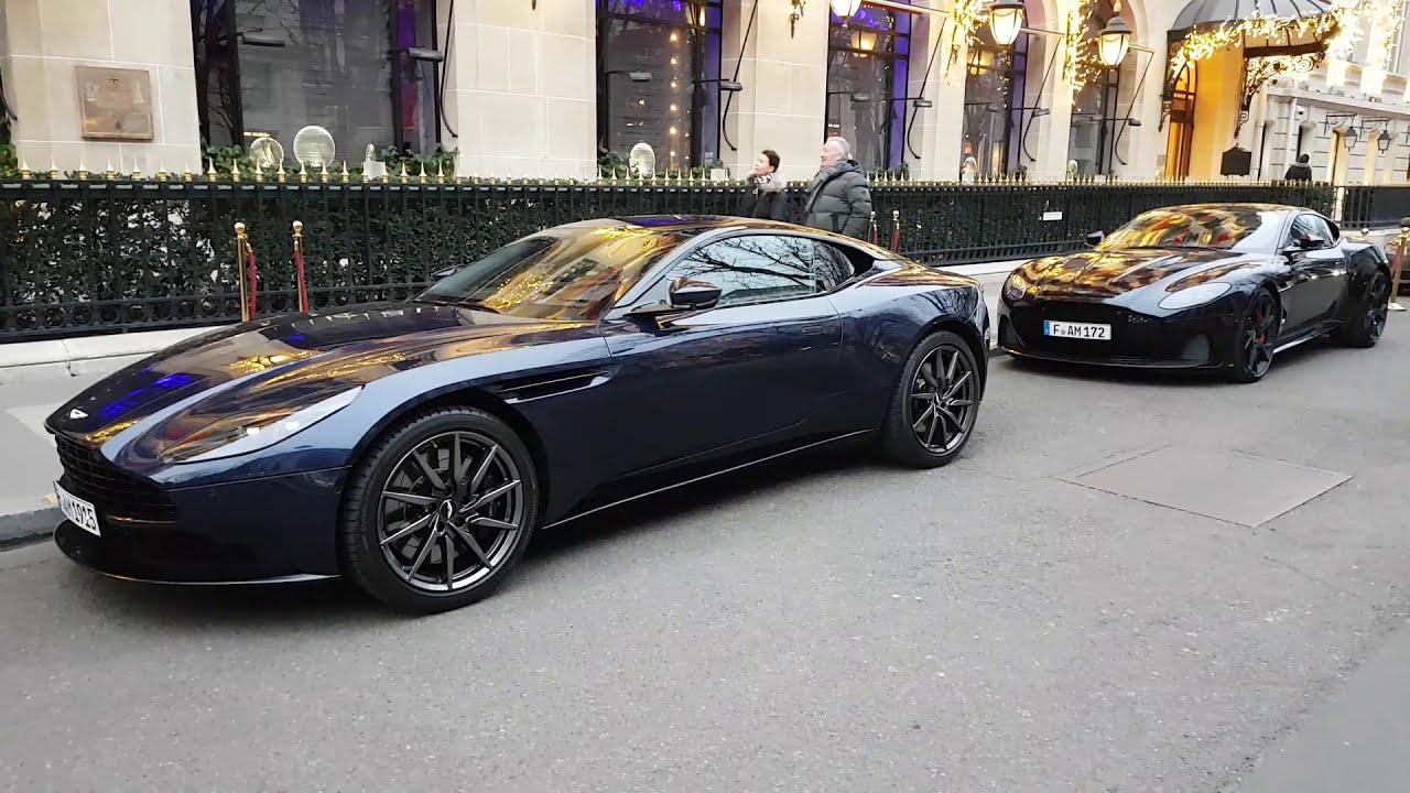 Sabiro Blue 2019 Aston Martin Db11 V8 Coupe In Paris France Youtube