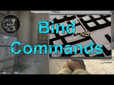 How to bind commands to a key in CS:GO - YouTube