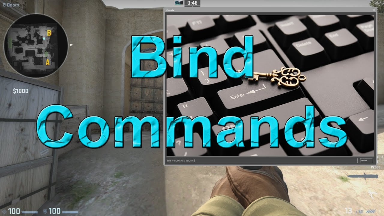 How to bind a key 67
