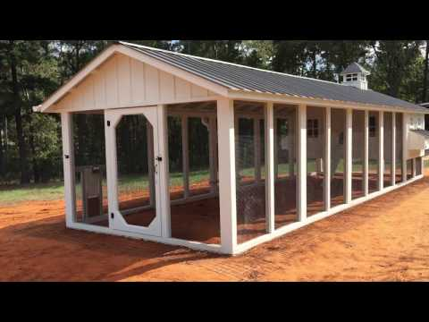 Custom Chicken Coop by Carolina Coops