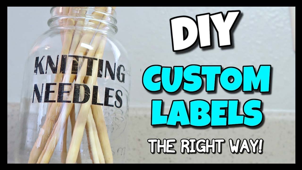 how to make labels with tape
