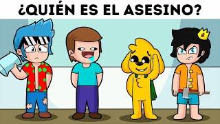 ¿QUIÉN ES EL ASESINO? 😱🔪  ¿PUEDES ADIVINARLO? | MIKECRACK MURDER MISTERY #16