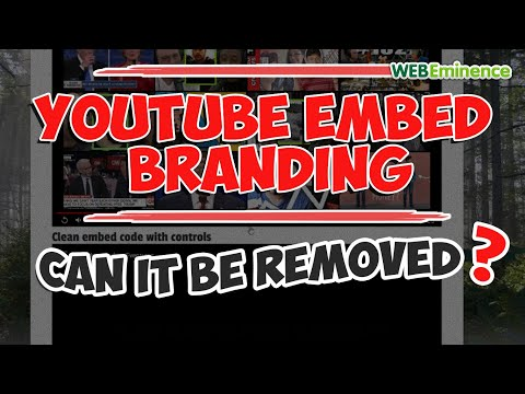 Youtube Branding Issues - Clean Video Embed - How I Use VIMEO To Solve This