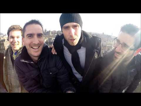 With friends in Edinburgh
