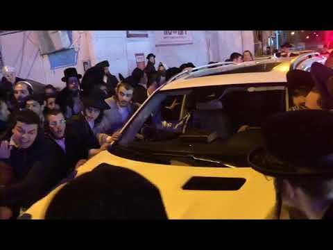 Bnei Brak protest (Media Resource Group)