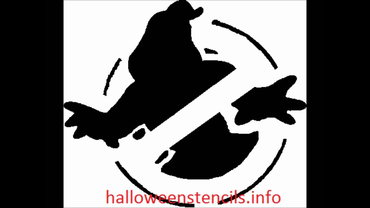 Halloween Pumpkin Carving Stencil Template Download Youtube