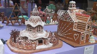 Рождественские пряничные домики представили на конкурсе в Швеции (новости)(, 2016-12-19T13:41:03.000Z)
