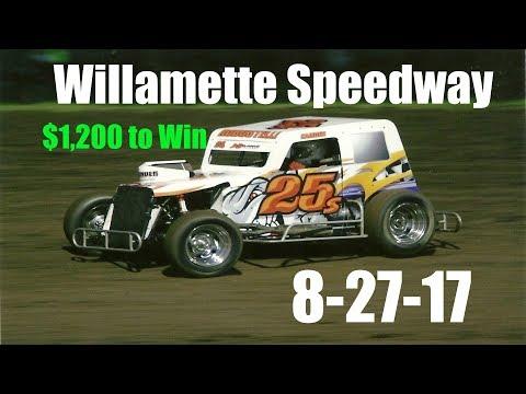 Willamette Speedway $1,200 to Win 8-26-17