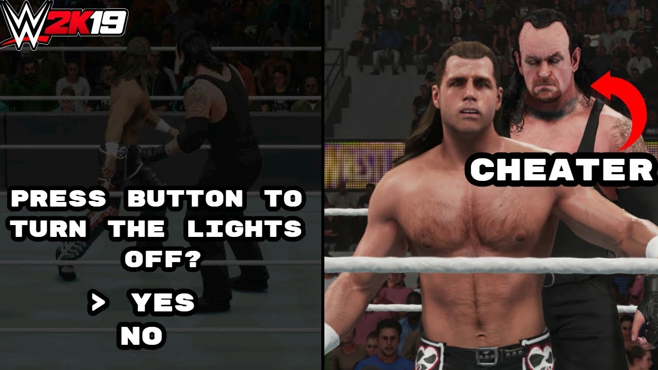 WWE 2K19: 10 Epic Ways That You Can Cheat!