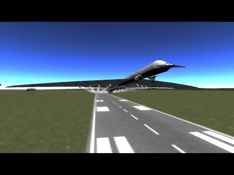Largest Plane Ever - The Titan Mk4 - Kerbal Space Program (modded)
