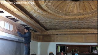 Wood ceiling design for living room and bedroom - Great idea for the house