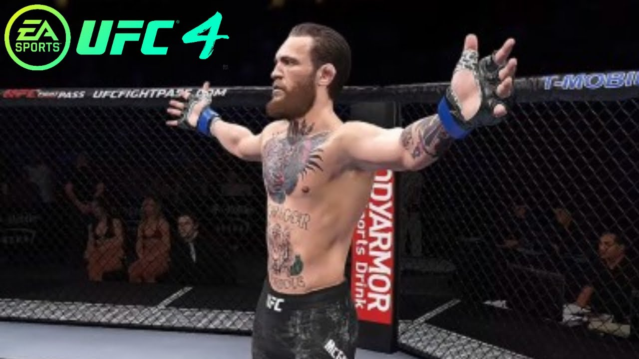 UFC 4 - Gameplay Online (Beta) - YouTube
