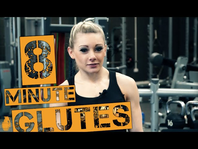 8 Minute Glutes Workout with Emma Paveley