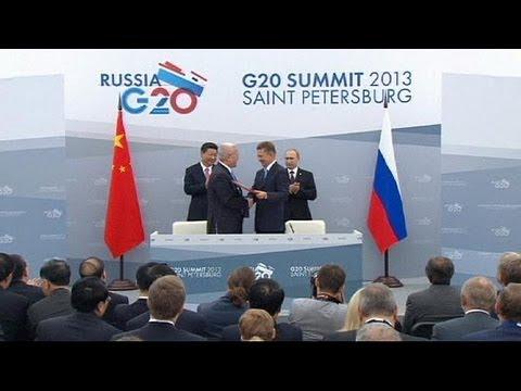 China firma acuerdos con Rusia y Turkmenistán para aprovisionarse de gas - economy