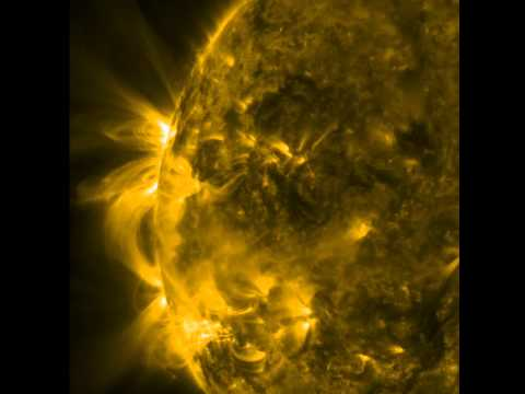 NASA SDO   Dynamic Loops   NASA Solar Dynamics Observatory Little SDO