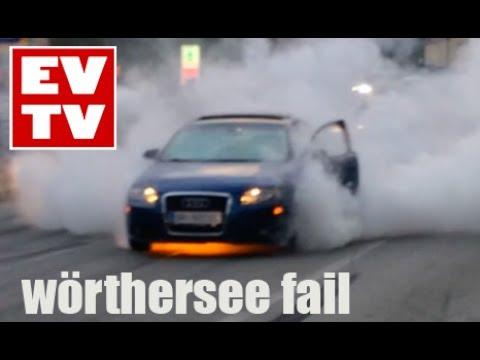 Audi A3 Burnout & FIRE (Wörthersee2017)