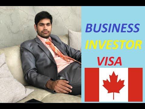 Canada Business/Investor Visa Full Information