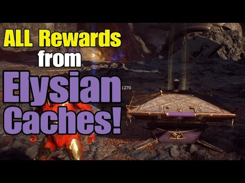 Anthem - ALL Rewards from Elysian Caches!
