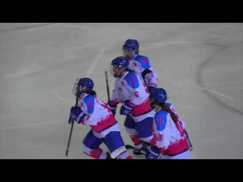 UMass Boston Women's Hockey Vs. Castleton University (11/4/17) Highlights
