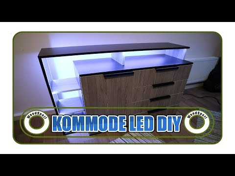 Kommode mit LED DIY