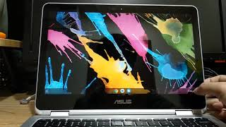 ASUS chromebook C302ca + Android app + dual boot Linux