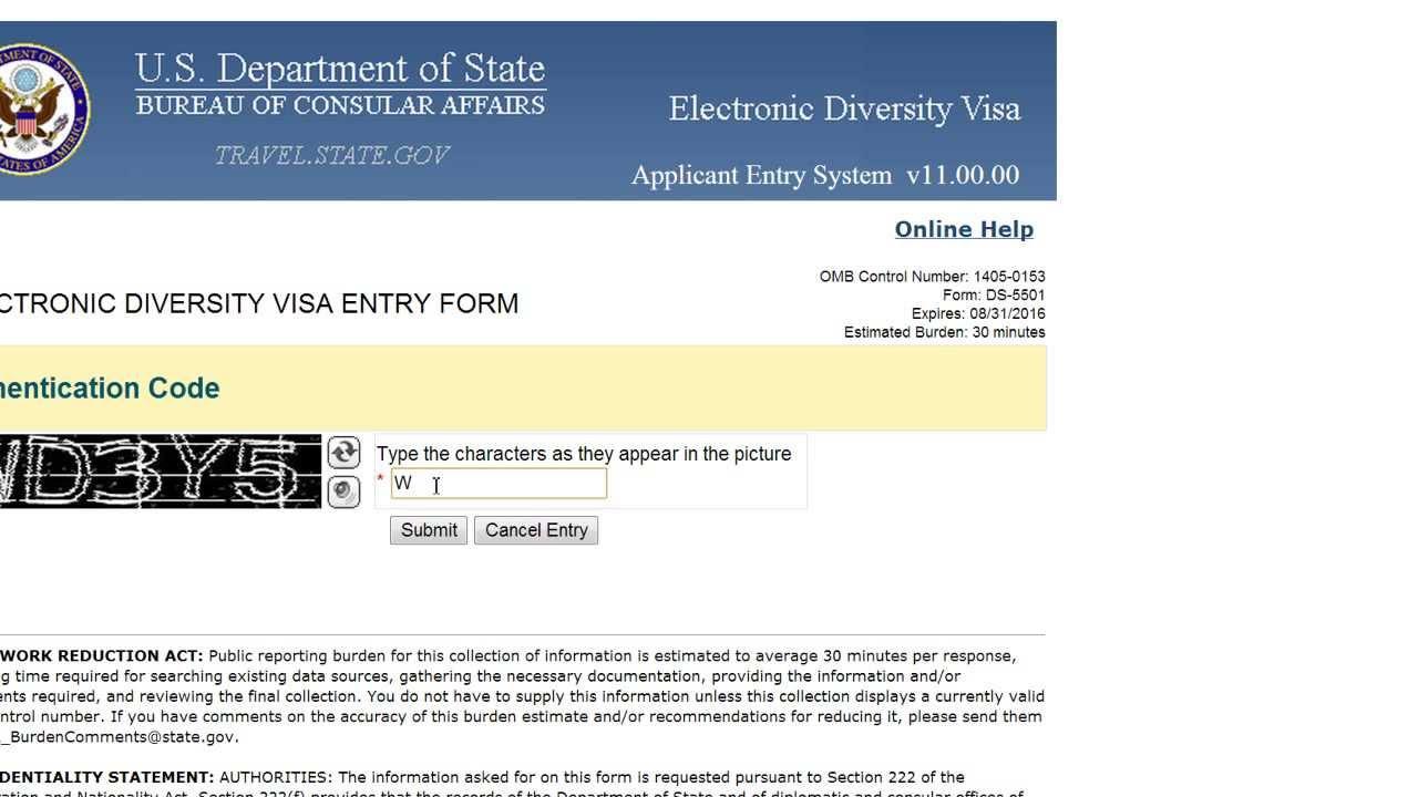 Dv lottery.state.gov