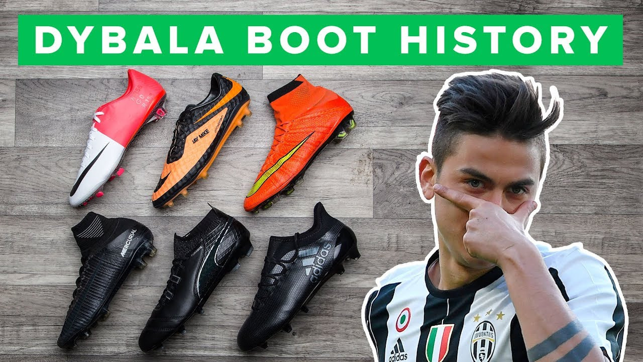 02467763d275 DYBALA BOOT HISTORY 2011 - 2017 | All Paulo Dybala football boots ...