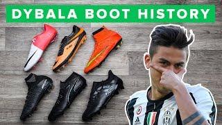 DYBALA CLEAT HISTORY 2011 - 2017 | All Paulo Dybala soccer cleats