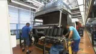 Mercedes Benz new ACTROS 2011 trucks Production Plant Worth thumbnail