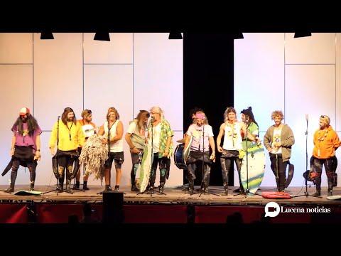 VÍDEO: Carnavaluc 2020 (I). La noche mágica del carnaval gaditano en Lucena: Los Cadizfornia