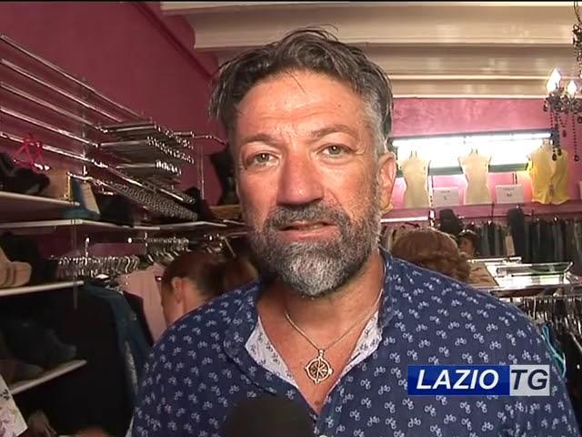 LAZIO TG   MINTURNO DONATI VESTITI ALLE PERSONE IN DIFFICOLTA'