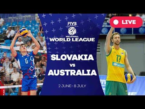 Slovakia v Australia - Group 2: 2017 FIVB Volleyball World League