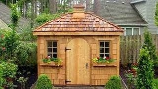 Backyard Shed Plans- Build A Backyard Shed