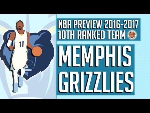Memphis Grizzlies | 2016-17 NBA Preview (Rank #10)