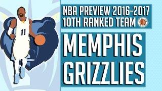 Memphis Grizzlies   2016-17 NBA Preview (Rank #10)