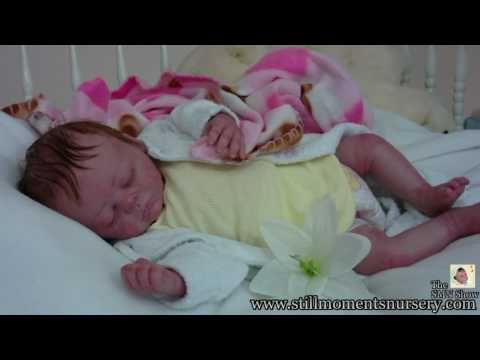 Reborn Baby Girl Anastasia by Nikki Holland Presentation