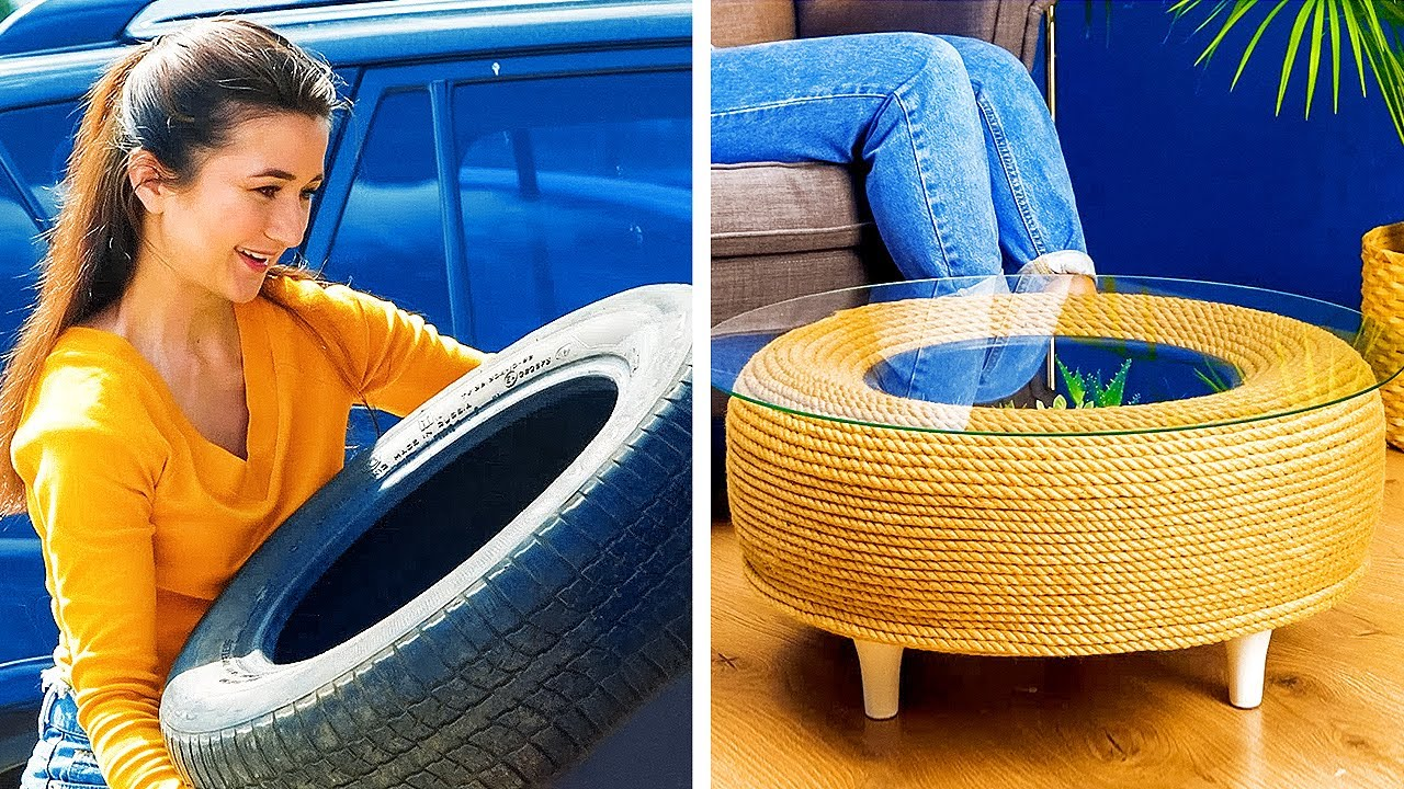 Download AWESOME DECOR PROJECTS FOR YOUR HOME    5-Minute Cement Crafts You Can Make With Your Hands!