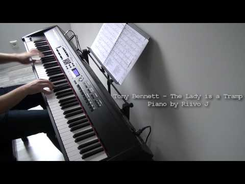 Tony Bennett ft. Lady Gaga - The Lady is a Tramp (Piano Cover)