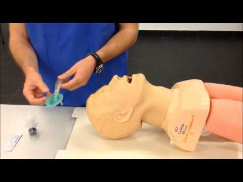 Laryngeal Mask Airway Insertion