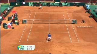 [Coupe Davis 2011 - Demie Finale] Highlights : Nadal / Gasquet (16:9)