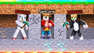 MINECRAFT: RAMCORE vs 2 ASESINOS 😱🔪 MINECRAFT SPEEDRUN con ALEXY y EMIZ50