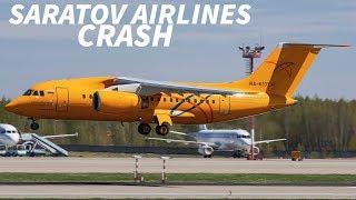 PILOTS in SARATOV AIRLINES CRASH Missed CHECKLIST COMPONENT