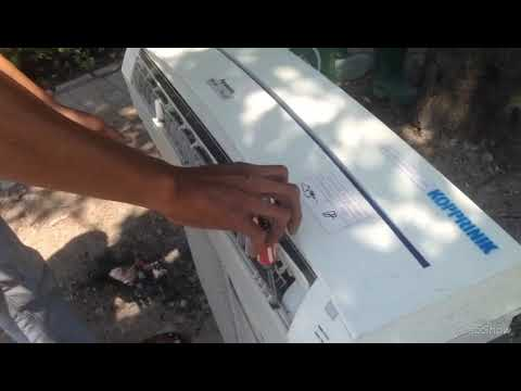 Washing cleaning indoor unit panasonic air conditioner, evaporator coil clean
