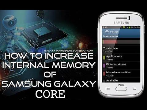 Increase GALAXY CORE INTERNAL Memory Upto 32 GB!