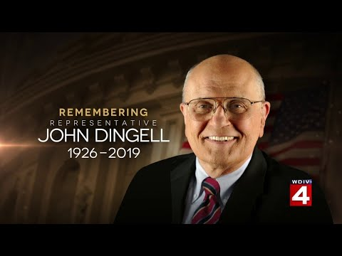 BREAKING: Former Michigan Rep. John Dingell dies at age 92