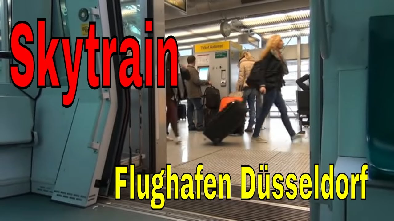 d sseldorf flughafen skytrain d sseldorf flughafen youtube. Black Bedroom Furniture Sets. Home Design Ideas
